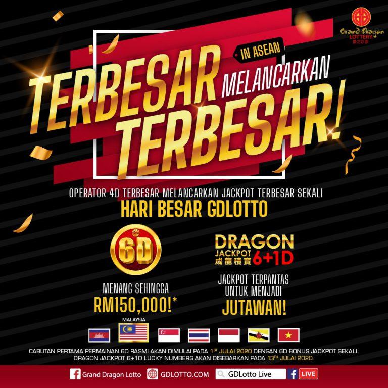 Cara Beli 6D Grand Dragon Lotto Setiap Hari Menang Sehingga RM150000