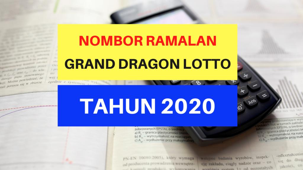 Nombor Ramalan GD Lotto Tahun 2020